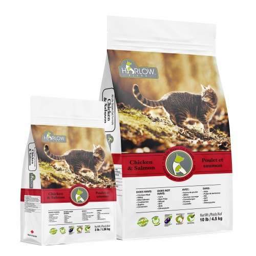 ALL LIFE STAGES Chicken & Salmon for Cats