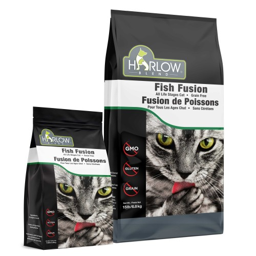 無穀物5種海洋鮮魚,蔬果全貓乾糧